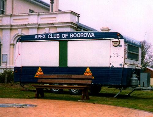 Maajura FC Caravan in 1980