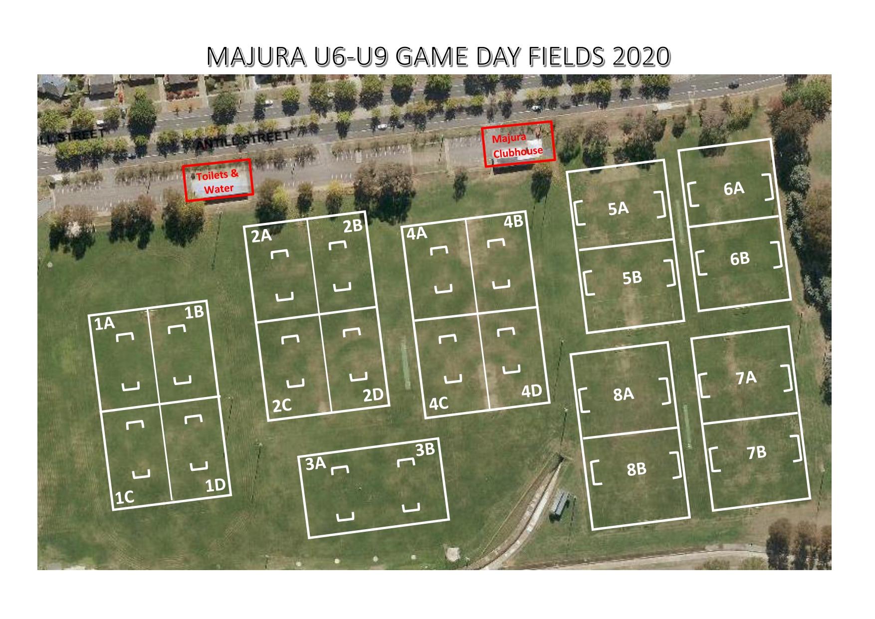 Majura FC Fields U6-U9