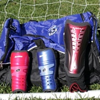 Shin Guards (With Ankle Guard)